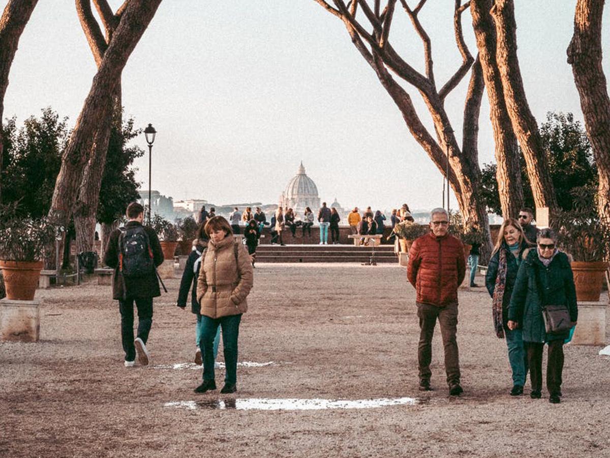 Ore 09.30 - Visita al Colle Aventino