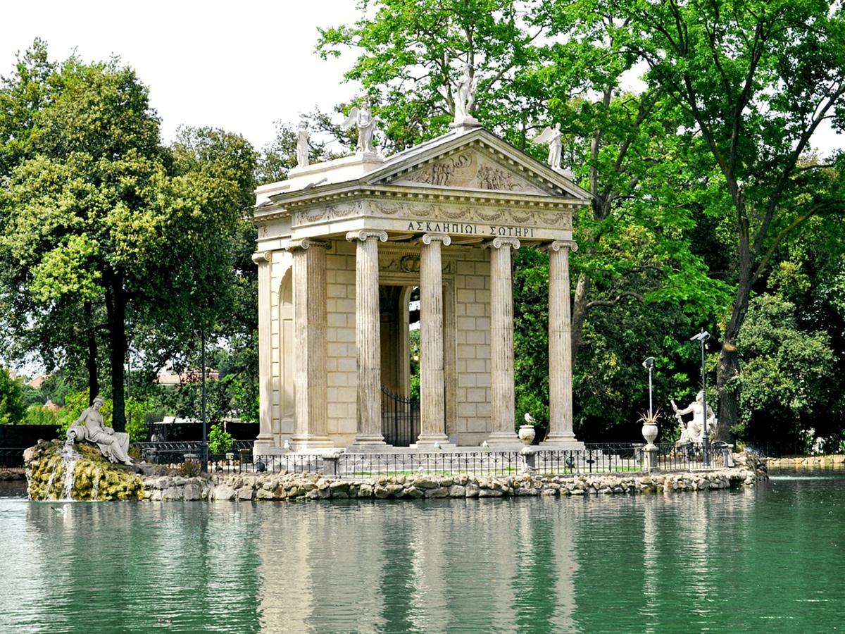 Ore 11.00 - Visita a Villa Borghese