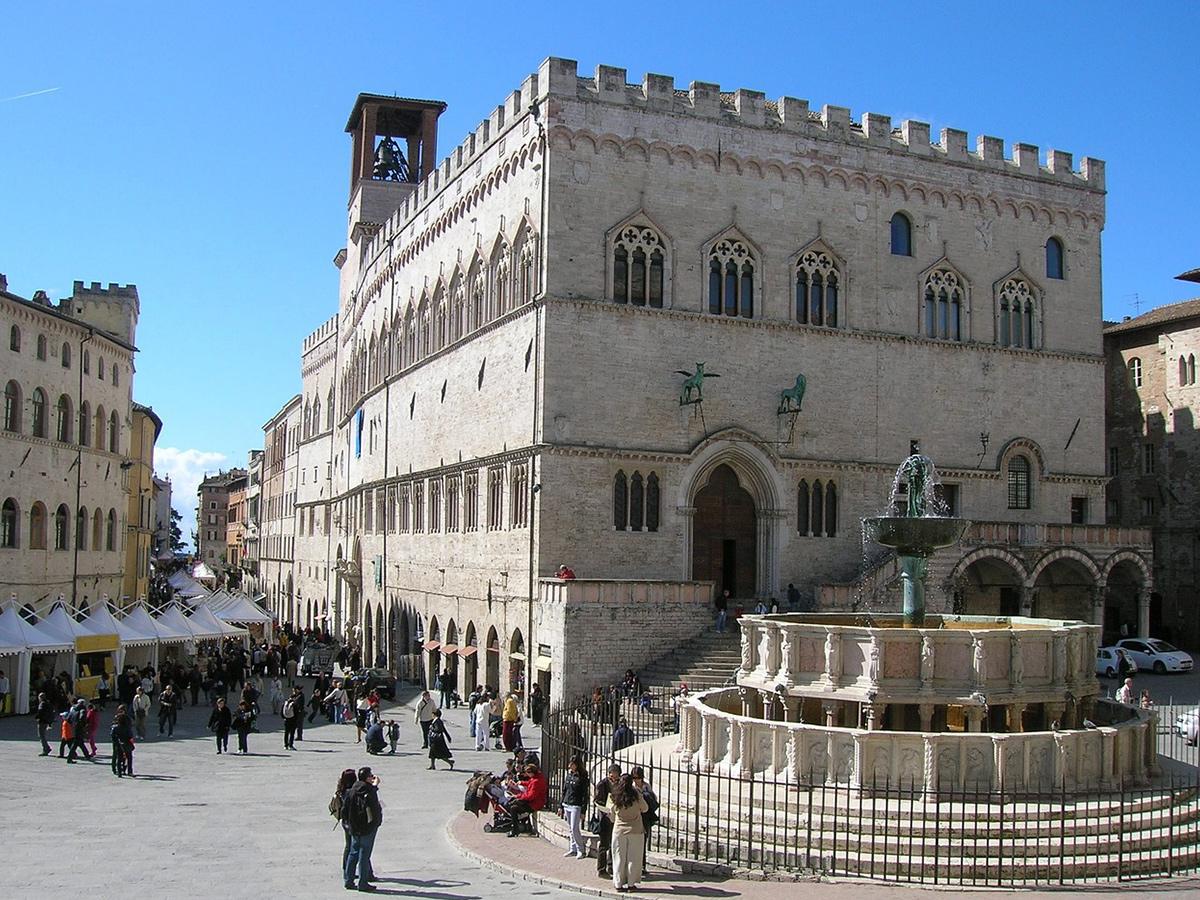 Ore 15.15 Arrivo a Perugia e Visita