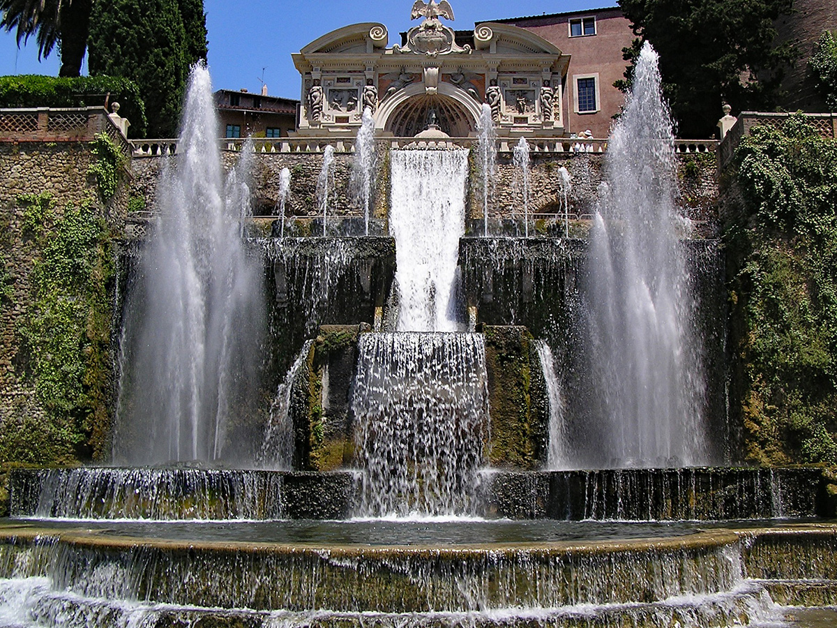 Giorno 2 - Visita di Villa Adriana e Villa D'Este