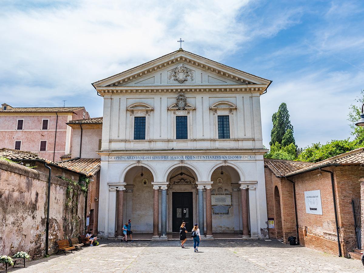 Ore 10. 30 - Basilica di San Sebastian