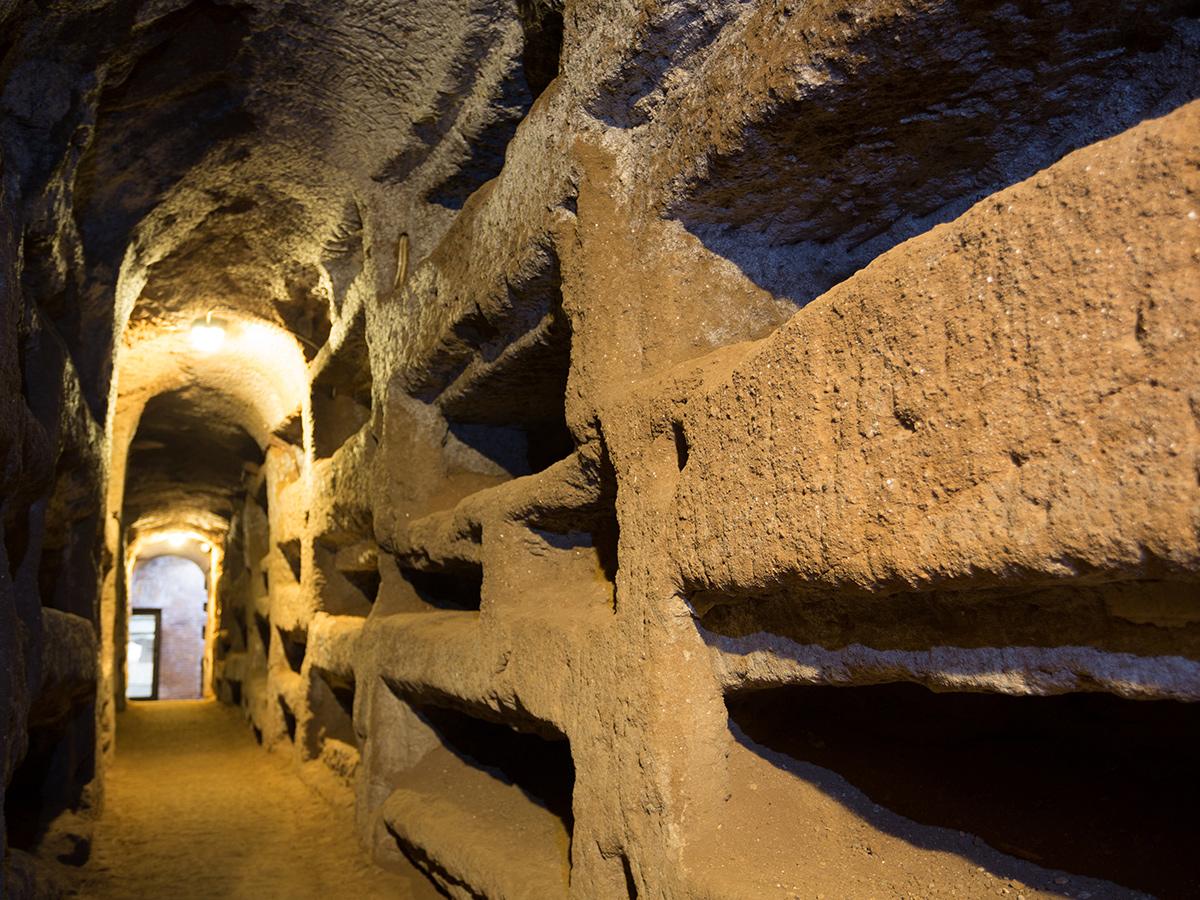 Ore 11.00 - Catacombe di San Callisto