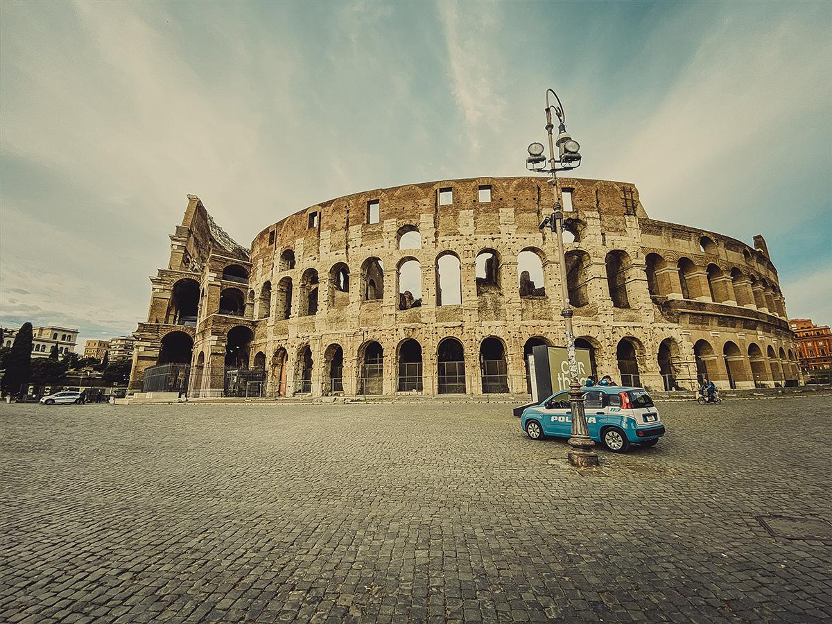 Ore 08.20 - Visita guidata  del Colosseo e dei Fori Imperiali