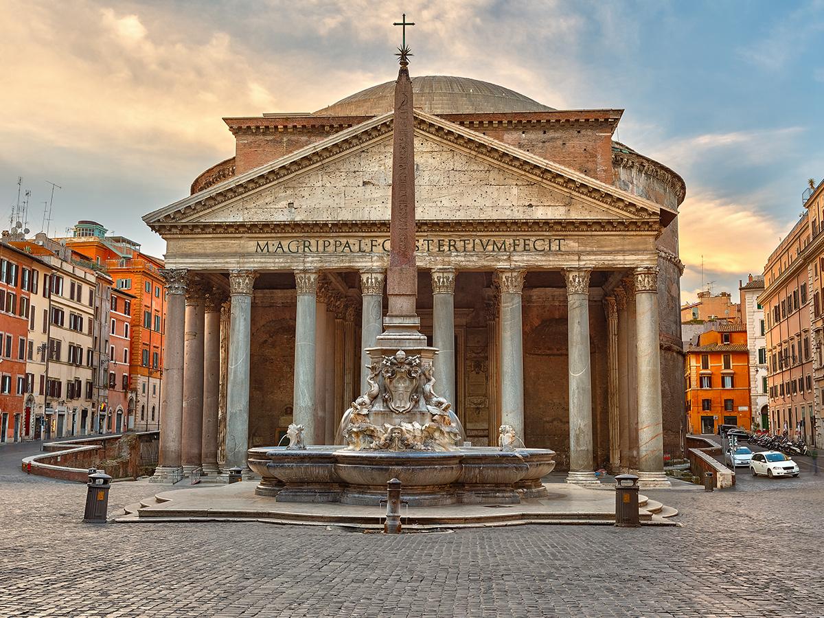 Ore 10.00 - Visita  guidata del Pantheon