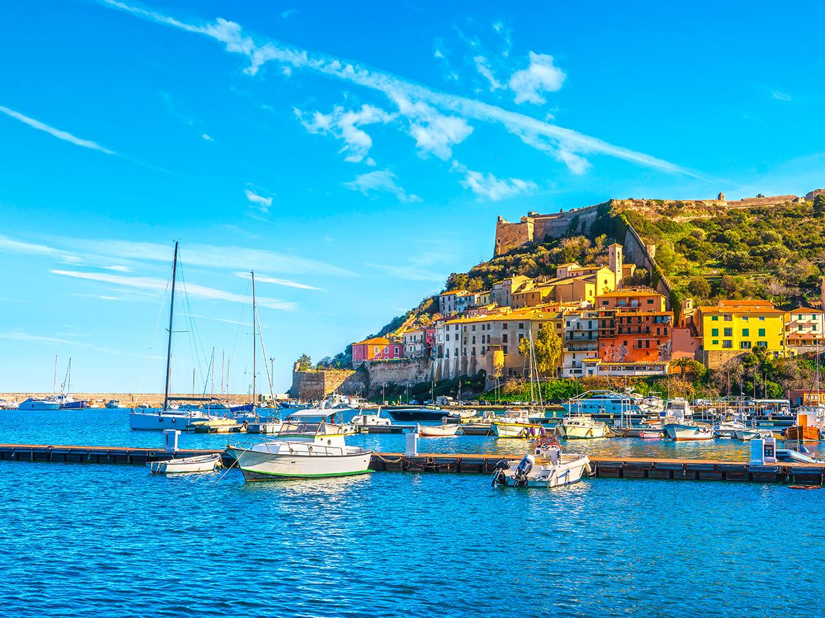 Ore 11.00 Arrivo a Porto Ercole e visita