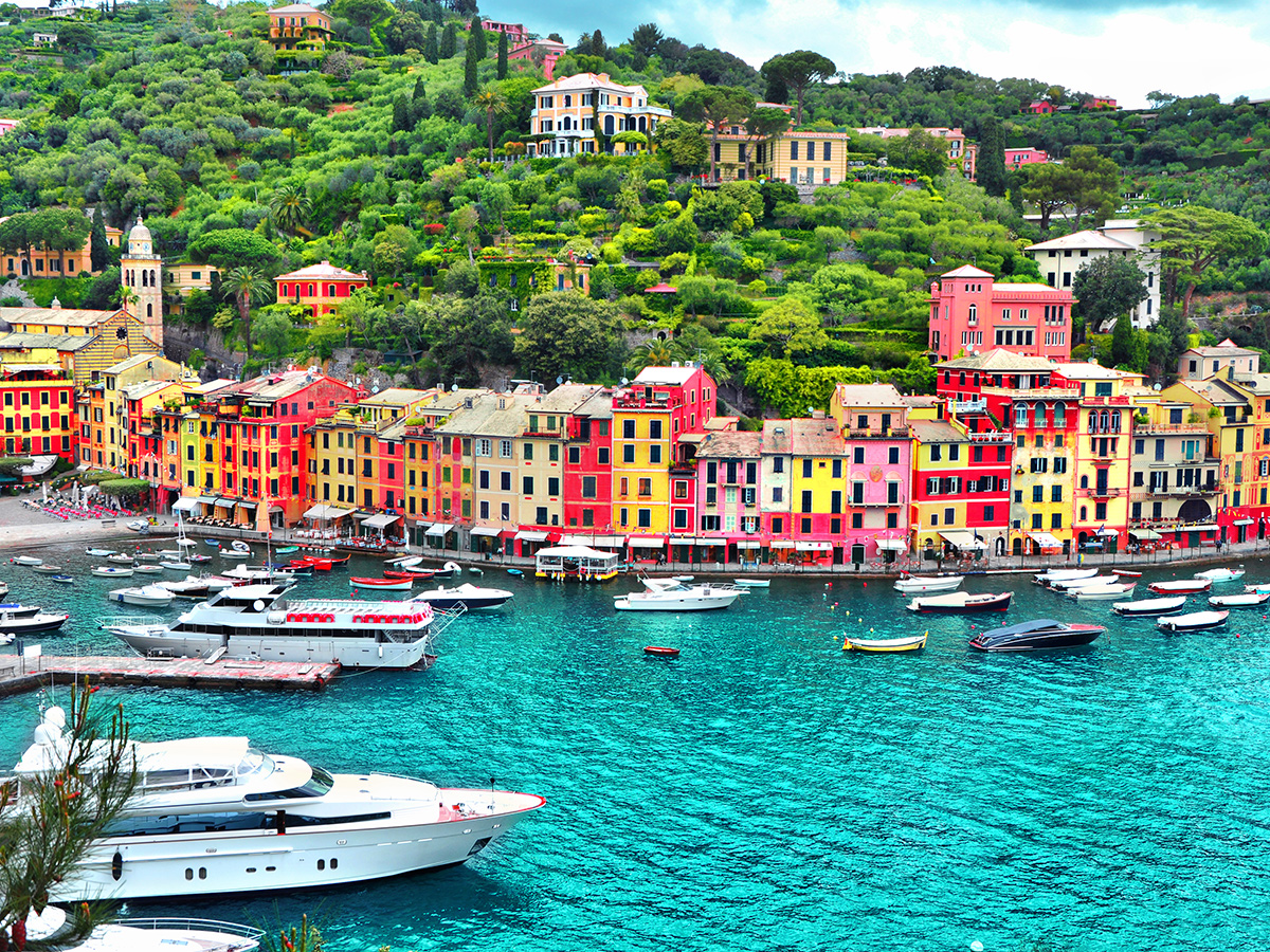 Ore 12.30 Battello per Portofino, pranzo e visita