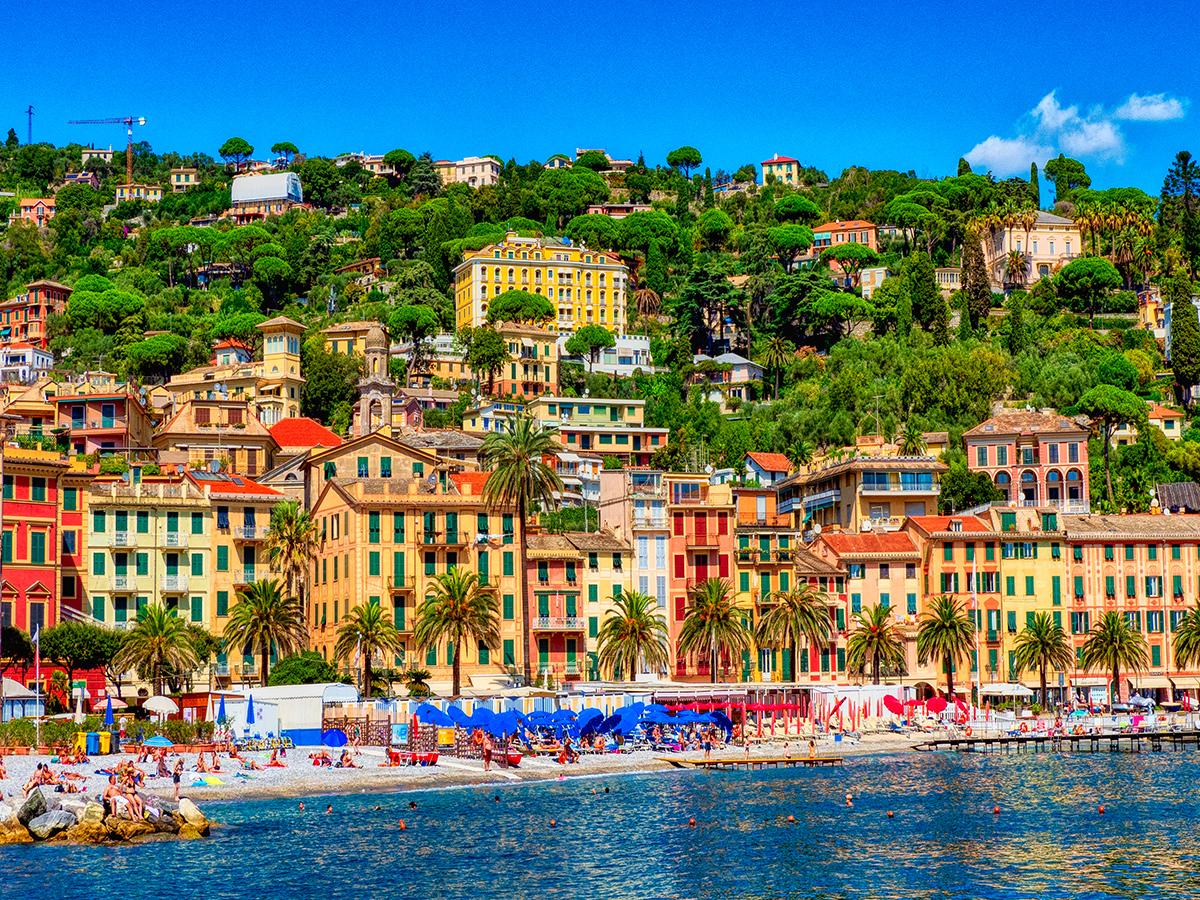 Ore 16.20 Arrivo a Santa Margherita Ligure e tempo libero