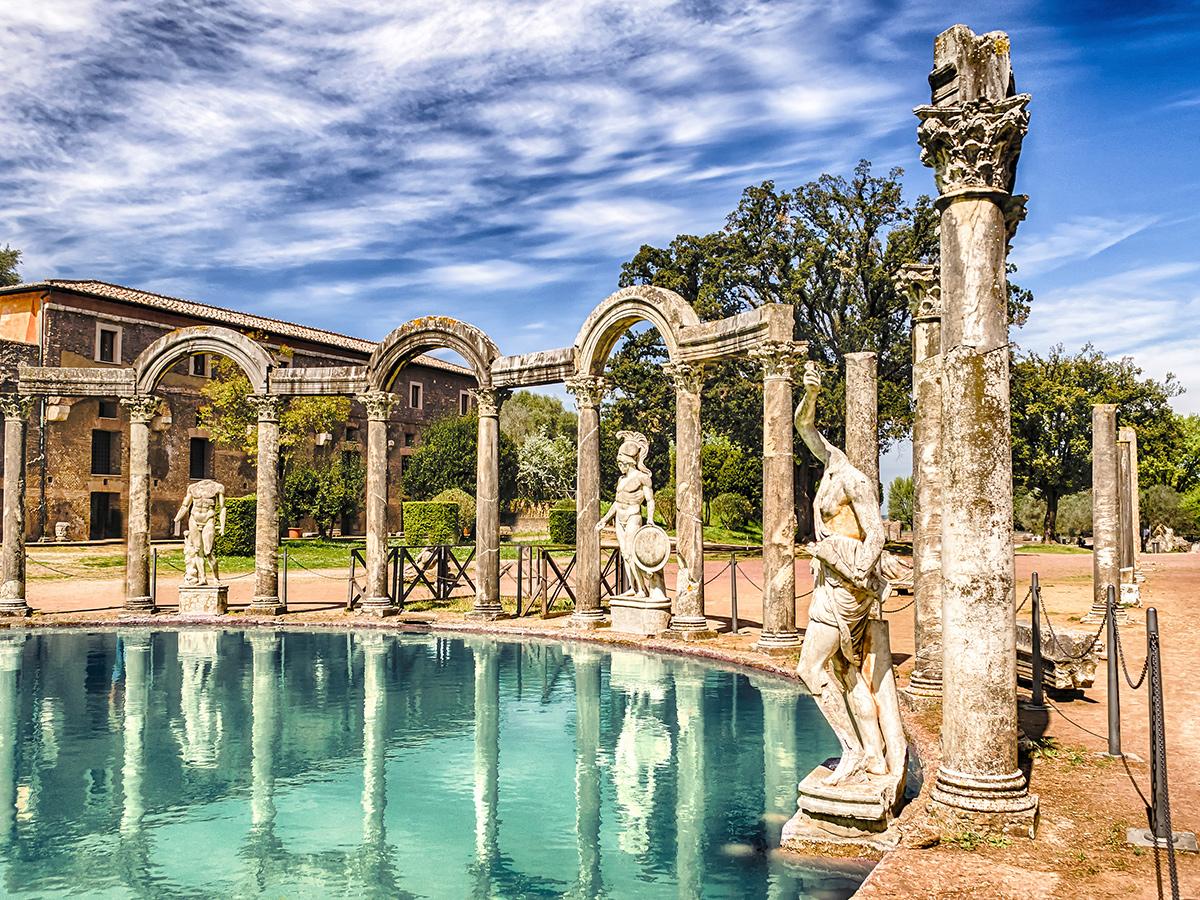 Ore 14.00  Visita guidata a Villa Adriana