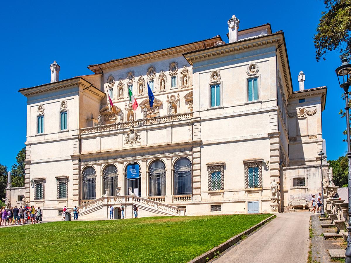 Ore 11.00 - Visita guidata  a Villa Borghese