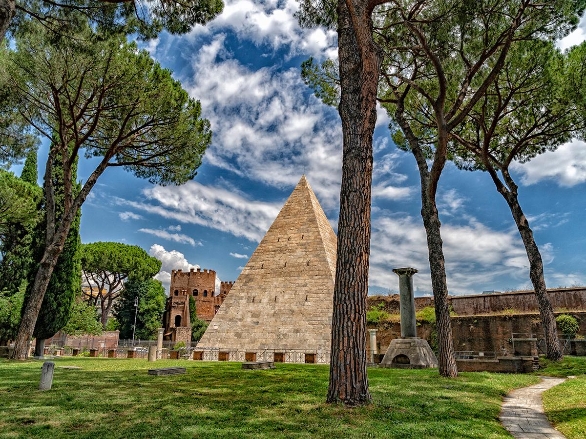 Ore 12.00 - Rientro a Piramide Cestia