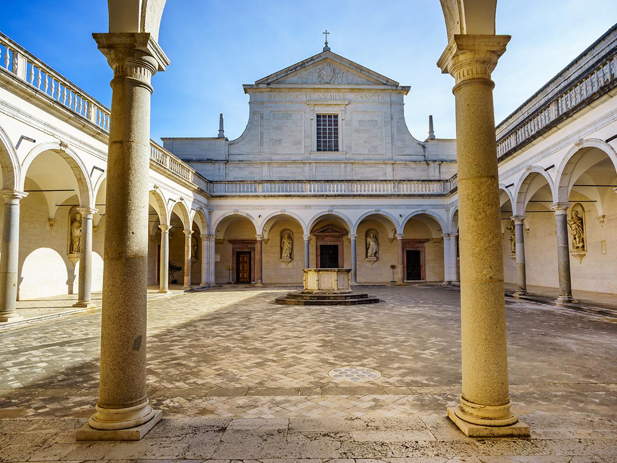 Ore 15.30 Arrivo a Cassino e visita della Città