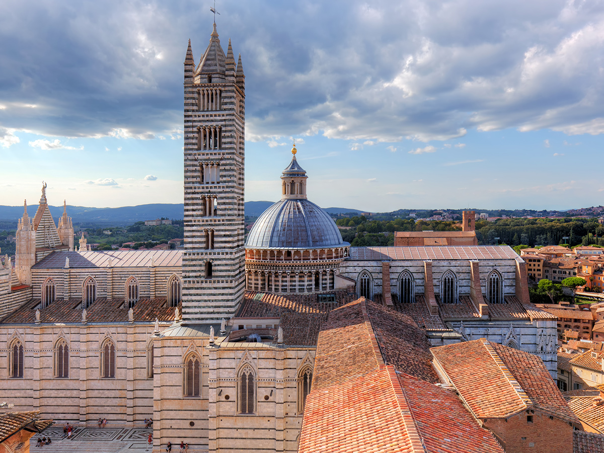 Ore 10.40 visita guidata a Siena