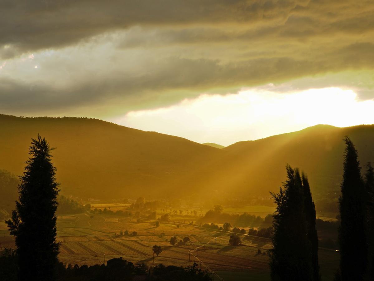 Giorno 1 - Trasferimento da Roma in Umbria, Check in