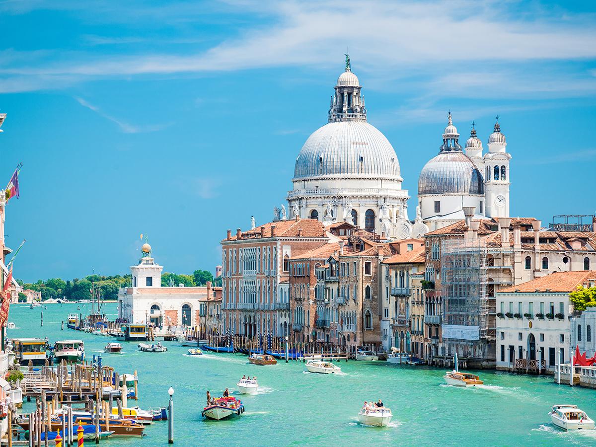 Ore 10.30 Arrivo a Venezia e Taxi Acqueo