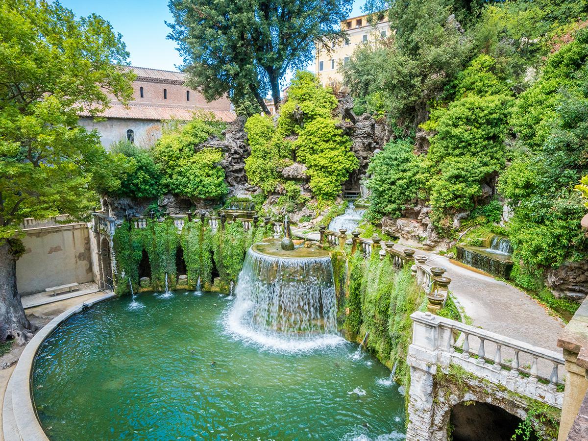 Ore 10.30 Arrivo a Tivoli e Visita guidata di Villa D'Este