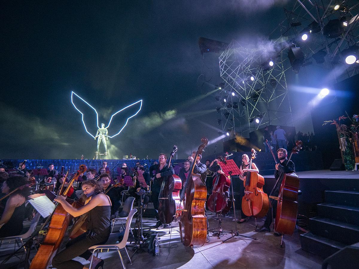 Ore 20.30 - Concerto Andrea Bocelli al teatro del Silenzio 24/07/2021