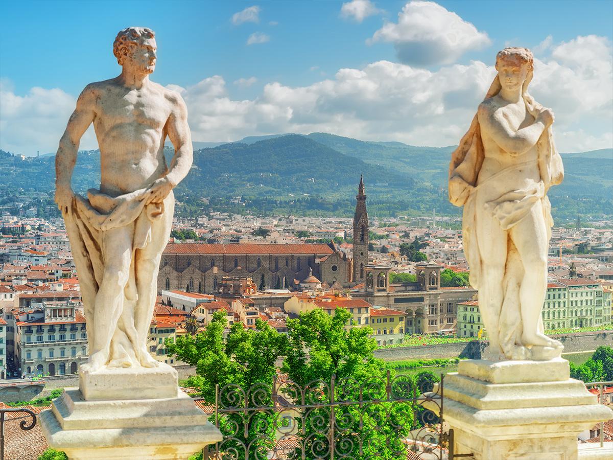 Ore 14.30 Visita guidata a Palazzo Pitti e i Giardini di Boboli