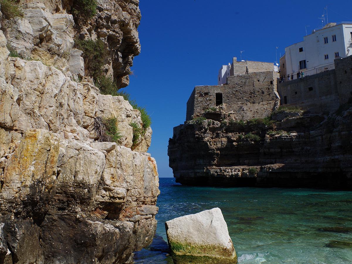 Giorno 1 - Trasferimento da Roma (abitazione del cliente) a Polignano a Mare, Check in hotel