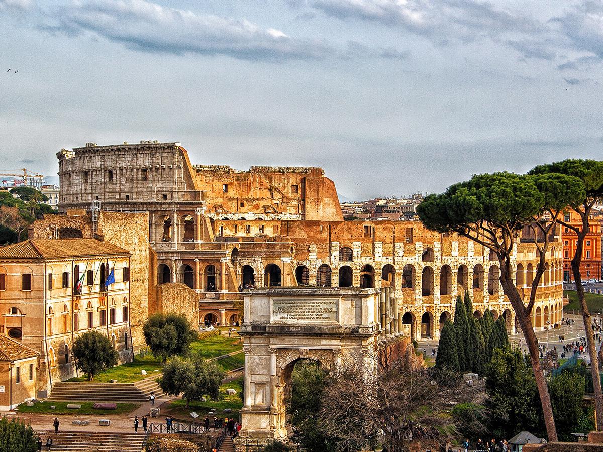 Ore 18.00 - Arrivo a Roma