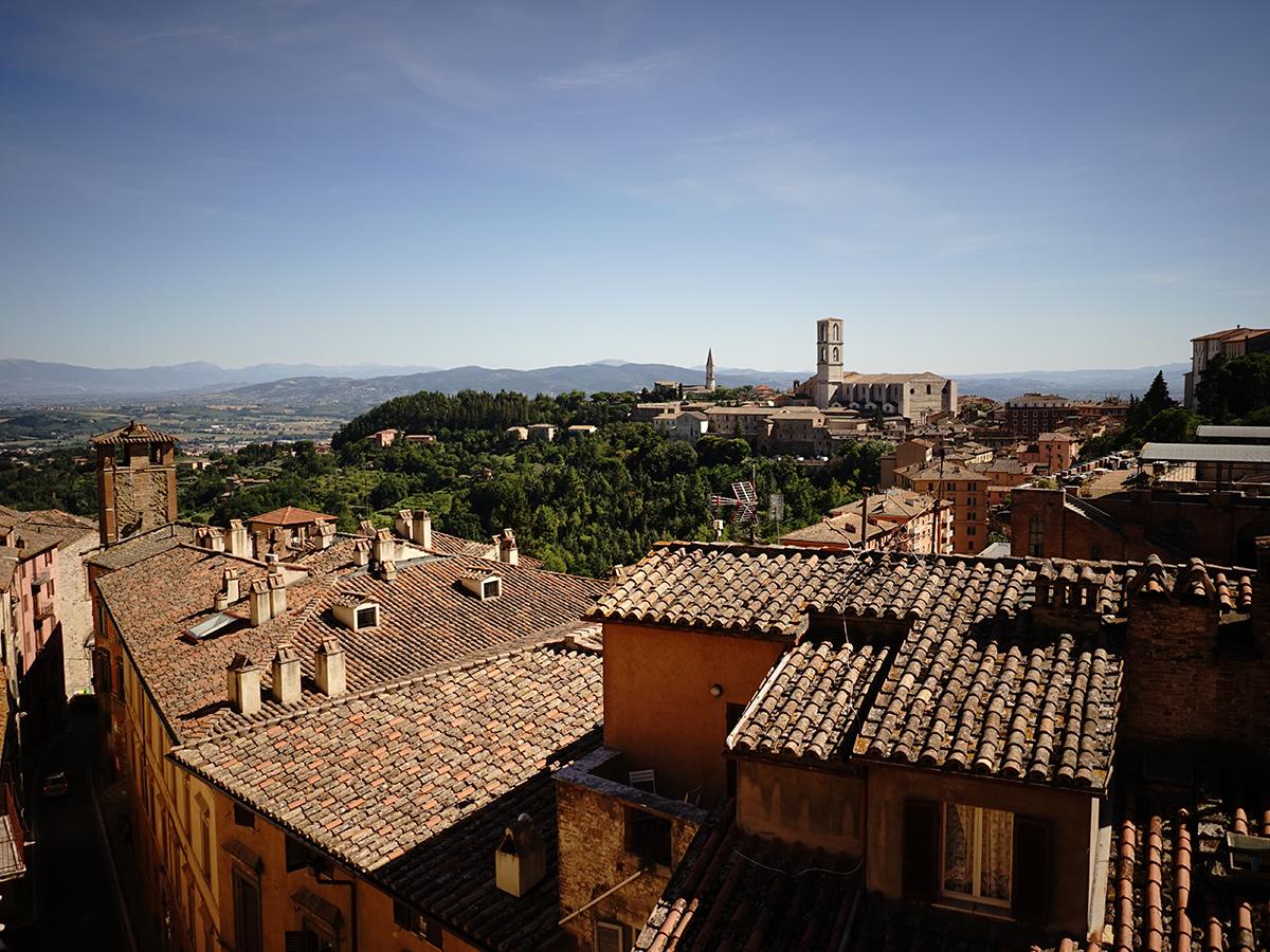 Ore 10.20 - Incontro con la guida e visita guidata di Perugia