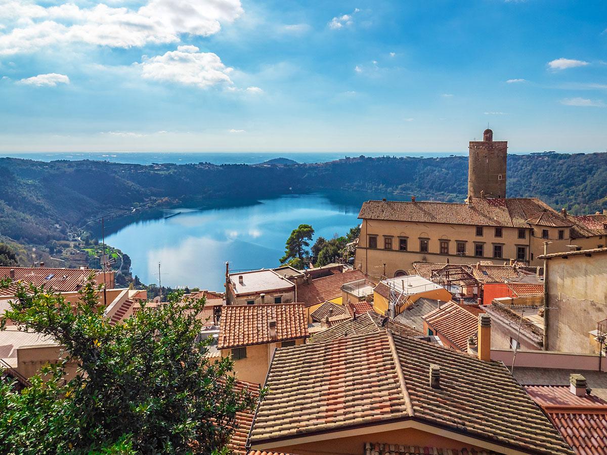 Giorno 3 Check out, Tour delle Ville Tuscolane e rientro in Toscana