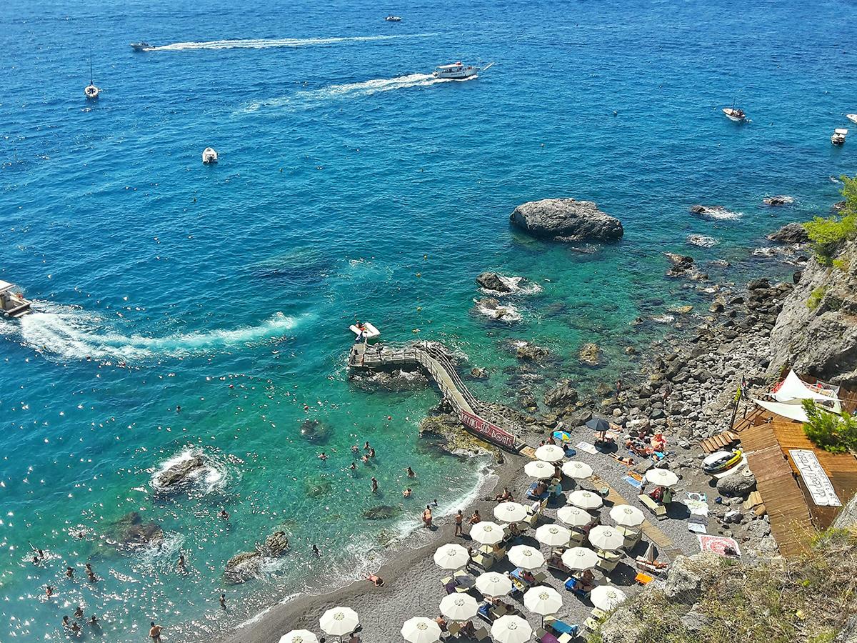 Giorno 7 - Venerdì - Giornata di relax al Mare in Costiera Amalfitana o Sorrentina