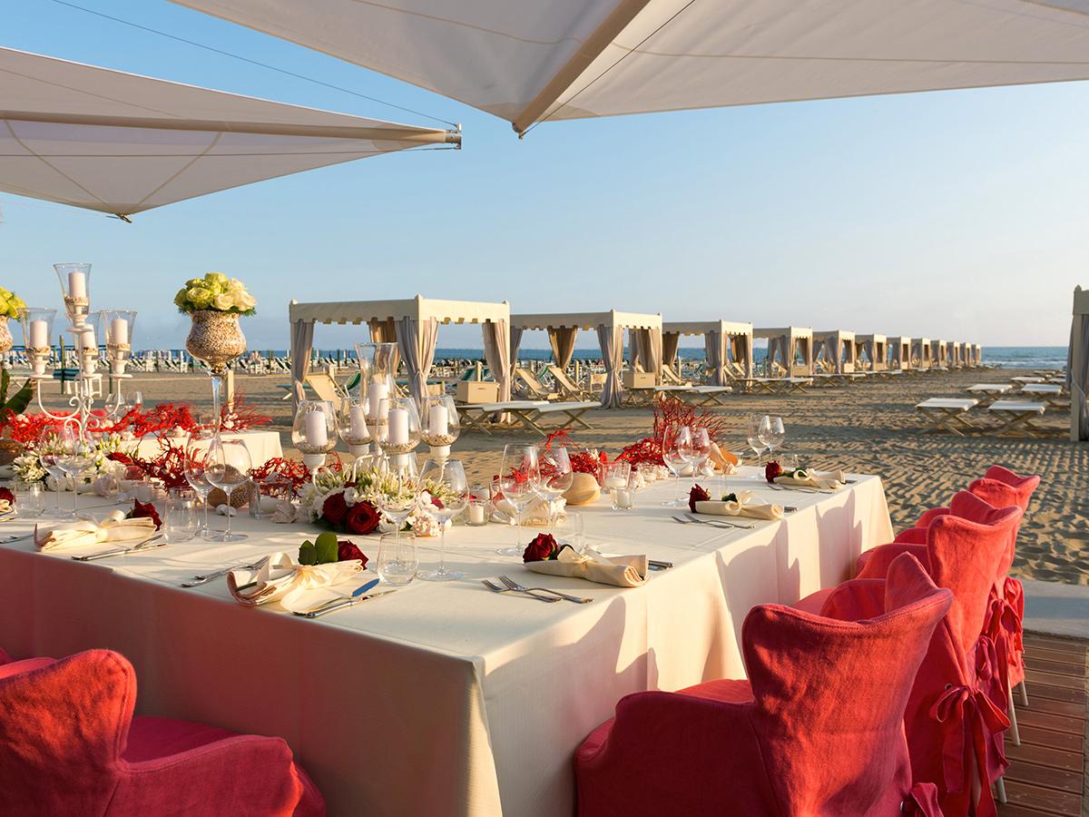 Giorno 3 - Check out, Forte dei Marmi e Concerto a Villa Bertelli + Pranzo ad Alpemare Bocelli Beach Club