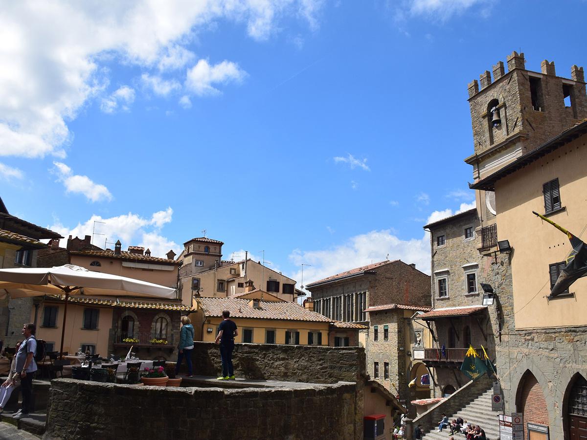 Venerdì - Giorno 7 - Visita di Arezzo e di Cortona